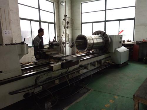 五创机械公司生产过程