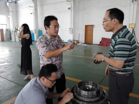 南京五创机械公司友好交流