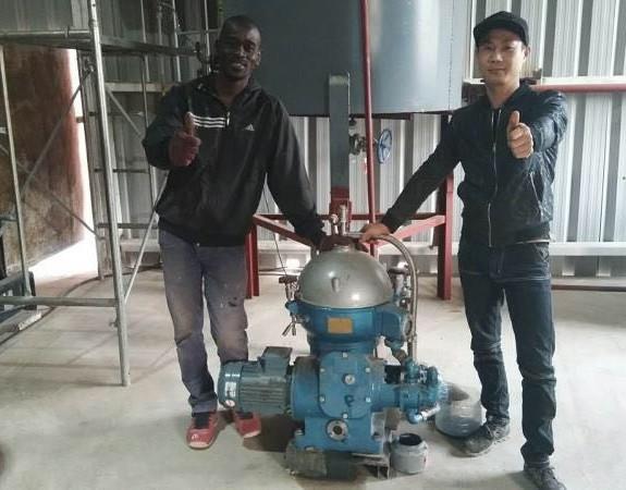 五创机械产品在塞内加尔